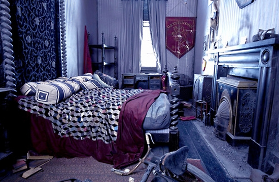 harry potter dortoir