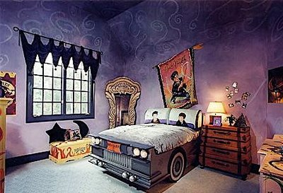 harry potter chambre gothique