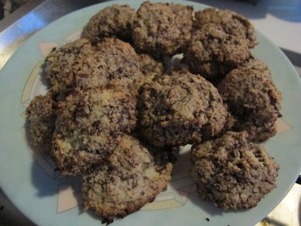 rochers chocolat amandes noix de coco