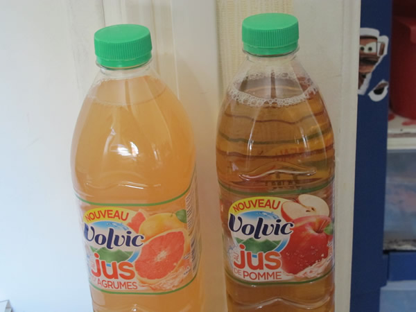 Volvic au jus de fruits