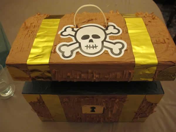pinata coffre de pirates