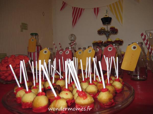 fête d'anniversaire sweet table