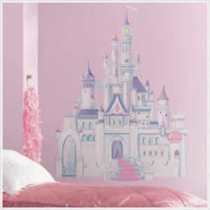 chambre de princesse stickers