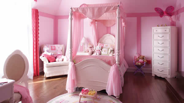 Id es d co de chambre de princesse wondermomes for Chambre princesse