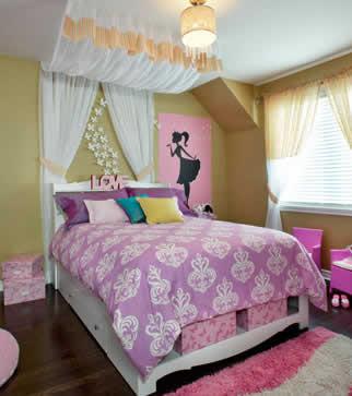 déco de chambre princesse beige
