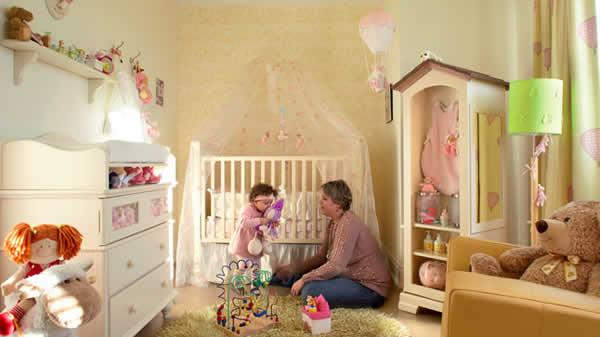 chambre bébé princesse