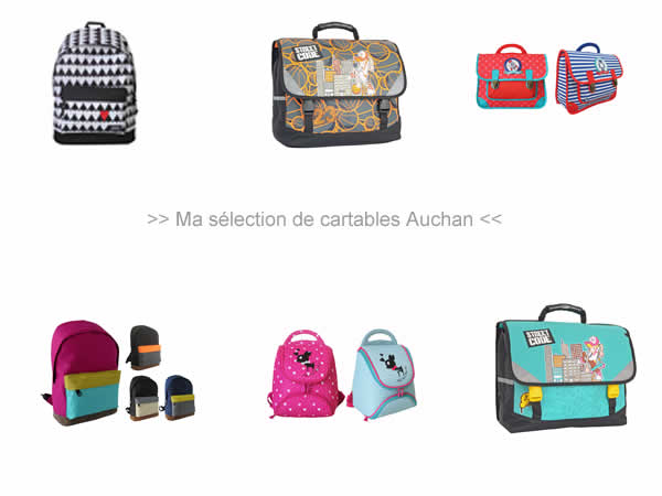cartables auchan