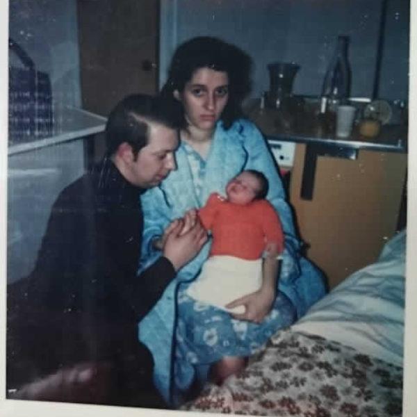 père mère et fille