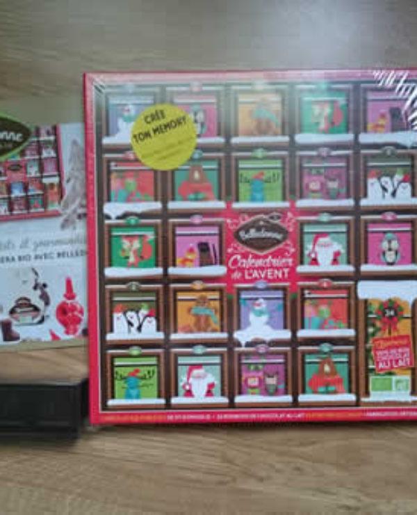 belledonne calendrier et chocolats de noel