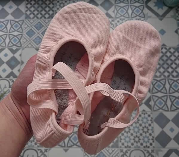 chaussons de dance