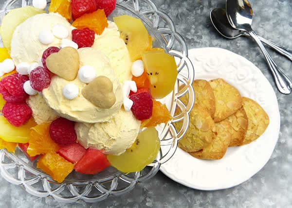 glace sundae