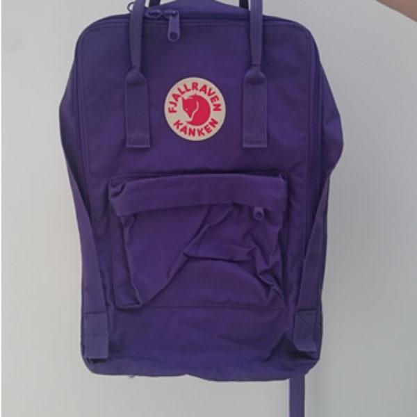 sac à dos Fjällräven Kånken Paars