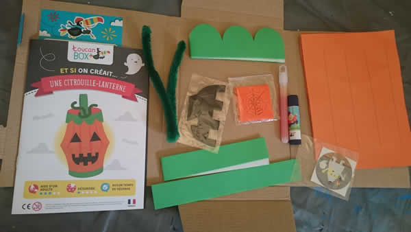 diy enfant halloween lanterne