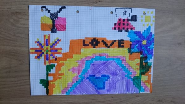 Feuille A Carreau Pour Pixel Art