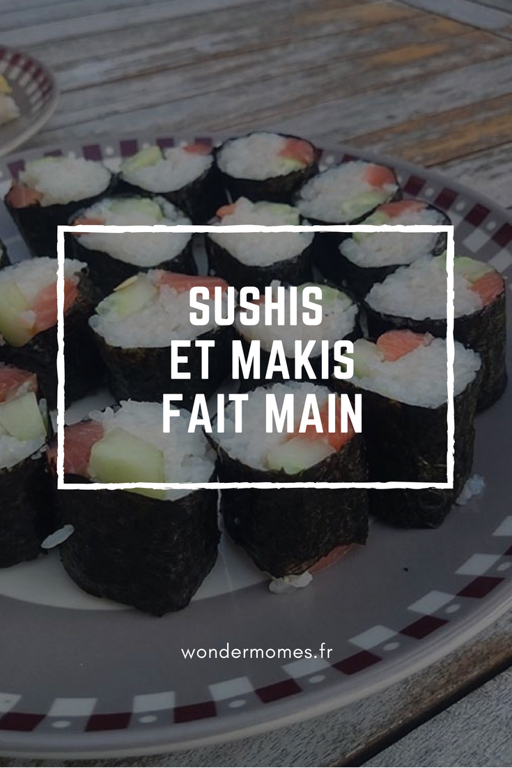 Recette de Sushis et makis de thon et saumon #recette #sushi #maki #cuisinerjaponaise #japanfood