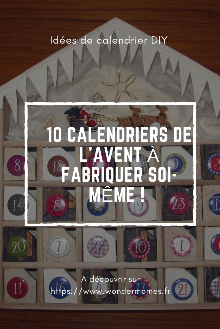 Calendrier De L Avent À Fabriquer Soi Même 10 idées de calendrier de l'avent à fabriquer soi-même