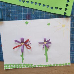 diy enfants fleurs papier