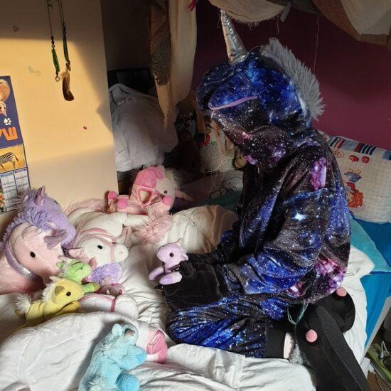 deguisement licorne galactique maison du pyjama